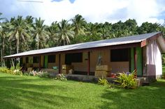 This is the health clinic at Big Bay, Santo, Vanuatu. It was a 4 hour 4WD through the jungle to get to from the main town in Luganville. An amazing experience.