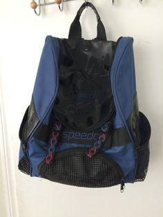 Navy Speedo Sports Duffle Carry On Bag