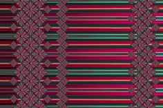 "2016_02_03_Water_K1A_52-56_red-green fabric by stradling_designs on Spoonflower - custom fabric. The diamonds are made from a photo of a waterfall.  Dome in Turquoise and Pink hues. This is a border print and will look fabulous on a shinny fabric. Each panel is 56"" x 12"". Let me know if you want a different hue or size.  I will be glad to help with that.  Just let me know.  Tags: diamonds,waterfall, water, border print,barrel,pipes,conversational"