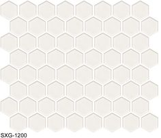 "American Universal Corp.: Catalog - 1 1/2"" SXG Series Hex Tile (Hexagon)"