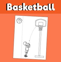 Shooting Hoops Basketball Paper Craft – 10 Minutes Members Area