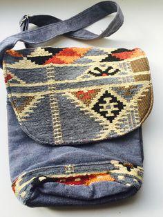 Aztec side bag