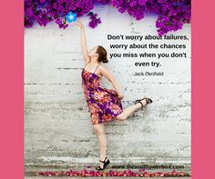 Failures are opportunities to learn and grow. Turn them into successes.