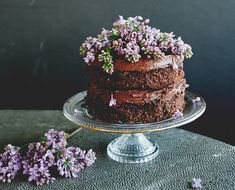 Don't miss this grain and dairy-free chocolate cake recipe from Sweet Laurel Bakery. Did we mention the vegan chocolate ganache frosting? Vegan Chocolate Ganache, Dairy Free Chocolate Cake, Chocolate Caramel Cake, Chocolate Recipes, Healthy Chocolate, Cupcake Torte, Cupcakes, Paleo Sweets, Vegan Desserts