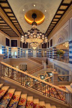 Al Qasr Boutique Hotel, Madinat Jumeirah, Dubai by Creative Kingdom Inc, Interior by Khuan Chew of KCA International