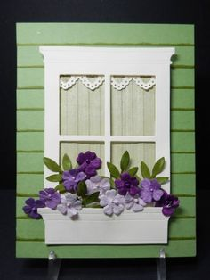 FS324 Robins Window Box by jandjccc - Cards and Paper Crafts at Splitcoaststampers