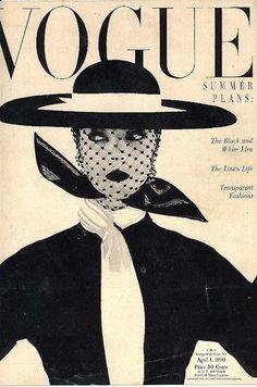 Image detail for -Fred & Ginger Vintage: Vintage Vogue Cover, April 1950 Vogue Vintage, Vintage Vogue Covers, Vintage Love, Vintage Chanel, Vintage Hats, Vintage Hollywood, 1950s Fashion, Vintage Fashion, Whimsical Fashion