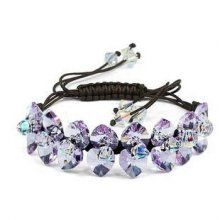 Austria Crystal & Silver Bracelet #fashion #bracelet #crystal jewelry #beautiful