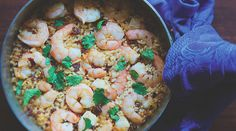 Rick Bayless's Chipotle Rice With Shrimp