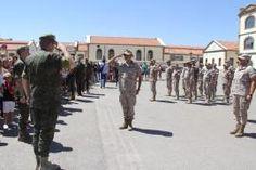 """Bienvenida en la base """"General Arroquia"""" La Brigada #Paracaidista en la misión """"Apoyo a Irak"""" toman el relevo a los legionarios en la base Gran Capitan #Irak http://wp.me/p2n0XE-4Xb"""