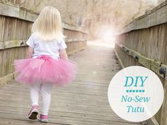 [VIDEO] How To Make a No Sew Tutu - Momtastic