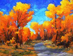 Inheritance by David Mensing http://www.facebook.com/HeidiHaislmaierFineArt #art #landscapes #oil #painting