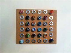 Fine Motor Activity: Marble Patterns