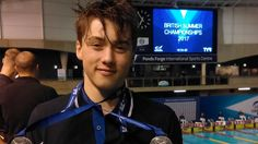 Ned Sharp sets Age Group record | British Summer Champs 2017