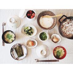 トロロ麦ご飯