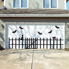 Eerie Outdoor Halloween Decorations by darlene