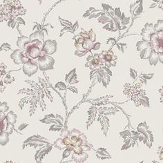 Scandinavian design wallpaper Camille from collection Collected Memories by Borastapeter and Eco Wallpaper Art Deco Curtains, Wall Canvas, Wall Art, Room Wallpaper, Vintage Roses, Designer Wallpaper, Scandinavian Design, Wall Prints, Alsace