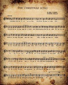 Vintage CHRISTMAS Music -The Christmas Song