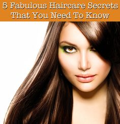 From hair color retention to quick fixes that instantly add mega-watt volume, high-gloss shine, and gorgeous body, featured here are 5 fabulous haircare secrets that you need to know. Whether you're tired of dealing with dry, frizzy, damaged hair, or you want to increase the longevity of your hair color in-between visits to the salon, this beauty guide shares must-read haircare secrets that the experts know. #haircare #beauty #beautytips