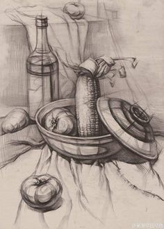 Pencil drawings · art drawings · object study in pencile nature sketch, observational drawing, contour drawing, croquis, still Graphite Drawings, Drawing Sketches, Pencil Drawings, Art Drawings, Still Life Sketch, Still Life Drawing, Academic Drawing, Drawing Studies, Drawing Lessons