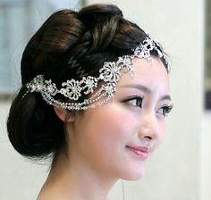 Bridal Hair Jewelry | code 0000870212092013 name wedding bride jewelry rhinestone crystal ...