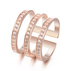 Diamond Tiered Women Open Cocktail Ring https://www.evermarker.com/collections/statement-rings?pid=faux-stone-wrap-cocktail-ring&utm_source=Pinterest_Organic&utm_medium=Traffic&utm_campaign=faux-stone-wrap-cocktail-ring