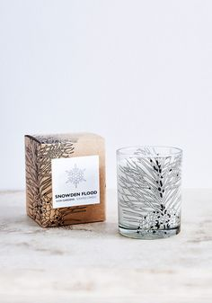 Kew Gardens Scented Candle -  A beautiful candle by Snowden Flood inspired by spruce, Scot's pine and fir trees.