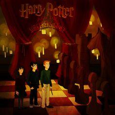 Harry Potter and the Sorcerer's Stone by emmilinne.deviantart.com on @deviantART