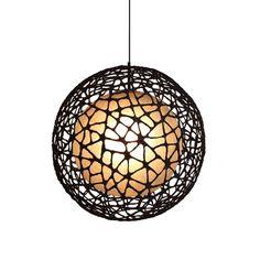 C-U C-ME Medium Round Pendant Light & Hive Pendant Lights | YLighting