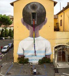 """""""Escape"""" by Seth in Arezzo, Italy, 9/15 (LP)"""