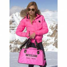 Nickelson Winterjas Moena w13 Fluo pink Artikelnummer: 19282   Prijs: €239.95  voor €143.97 Uw voordeel: -40% Pink Fashion, Fashion Beauty, Womens Fashion, Fashion Trends, Bubblegum Pink, Heels, Jackets, Bags, Heel