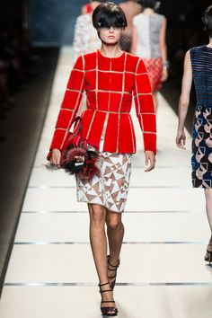 Fendi | Spring 2014 Ready-to-Wear Collection | Style.com