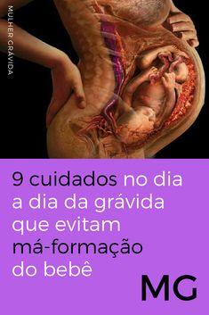 Cuidados na gravidez | 9 cuidados no dia a dia da grávida que evitam má-formação do bebê | Ainda tem muita gente que não faz a nº 3 :( Confira: