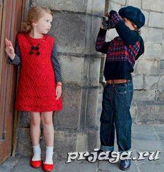 Tejer para el vestido de los niños