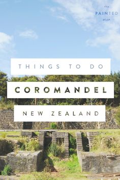 Beaches, kayaking, gold mining history and scenic views! Here's my list of things to do in the Coromandel Pensinsula on New Zealand's North Island. Road Trip New Zealand, New Zealand Itinerary, New Zealand Adventure, New Zealand Travel Guide, Brisbane, Sydney, Auckland, North Island New Zealand, Painted Globe