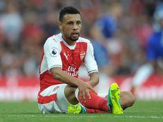 Arsenal midfielder Francis Coquelin facing three-week injury layoff
