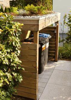 Backyard Projects, Outdoor Projects, Garden Projects, Backyard For Kids, Bin Store Garden, Landscape Design, Garden Design, Front Gardens, Backyard Sheds