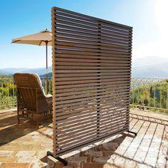45 effective ideas for protecting garden privacy steel screen # tall garden fence Garden Privacy, Pergola Garden, Backyard Privacy, Outdoor Pergola, Pergola Shade, Pergola Plans, Diy Pergola, Privacy Screens, Garden Screening