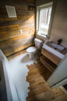 Bathroom Floor - Legacy by Wood & Heart Building Co.