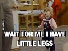 "I'm just shy of 5 feet tall and my bf is 6'5""... this is my life"