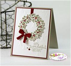 Stampin Up Wondrous Wreath Bundle (via Bloglovin.com )