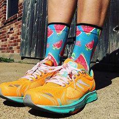 Amazon.com: Zensah Limited Edition Running Socks - Anti-Blister Comfortable Mini-Crew Sport Socks, Moisture Wicking (Large, Space Cats): Clothing Rainbow Socks, Pineapple Design, Running Socks, Space Cat, Sport Socks, Cool Socks, Stay Warm, Warm Weather, Rubber Rain Boots