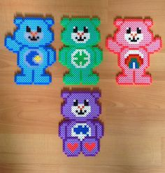 Care Bears perler bead by blackshoppiercing