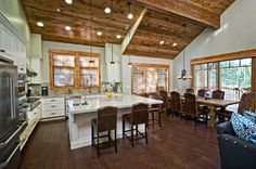 Schaffer's Mill In Tahoe, California - contemporary - kitchen - salt lake city - by Alder and Tweed