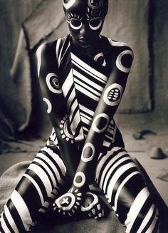 Body Art: body paint