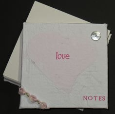 Arnold Grummer's Papermaking: Love Notesby DT PEG