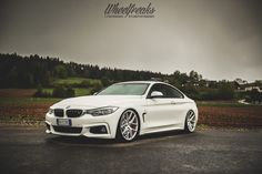 #BMW #F32 #435i #Coupe #xDrive #MPackage #Alpine #White #Angel #Wheels #Provocative #Sexy #Hot #Badass #Live #Life #Love #Follow #Your #Heart #BMWLife