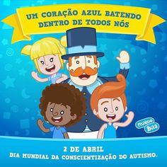 Instagram photo by Mundo Bita (@mundobita) 02/04/2016 Com informação e amor, podemos melhorar a qualidade de vida de muitas famílias. Use azul, compartilhe essa energia. 💙