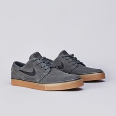 new concept e04d4 fd0ca Grey and gum go well together on sneakers and the Nike SB Zoom Stefan  Janoski is no exception. The latest gum and grey edition of the Janoski has  arrived i