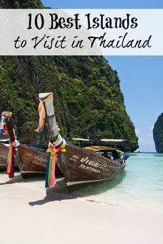 Ten Best Islands to Visit in Thailand